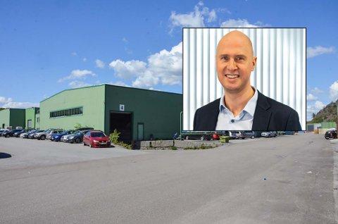 NORMAL DRIFT: Ingen av de 135 ansatte ved Hegdal-bedriften er så langt permittert. Konstituert daglig leder Lars Erik Myhre er innfelt.