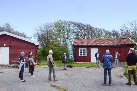NYTT INNSLAG: Varaordfører Rune Høiseth åpnet mandag det nye kyststimuseet på Rakke.