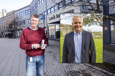 OPPVASK? Ordfører Erik Bringedal har kalt møtet han har kalt inn til et møte om forretningsorden. Erik A. Sørensen i BedreLarvik kaller det oppvaskmøte.