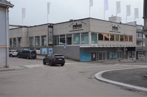 FØRSTE LEIETAKER: Før jul kommer det stor elektronikkbutikk i første etasje i Prinsekvartalet.
