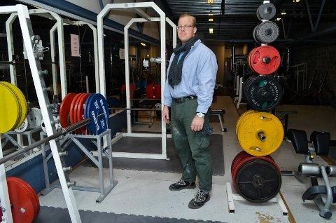 SLANKERE: Verdensmester Carl Yngvar Christensen gir seg styrkeløfter og har slanket bort 50 kilo. Foto: Rune Hagen