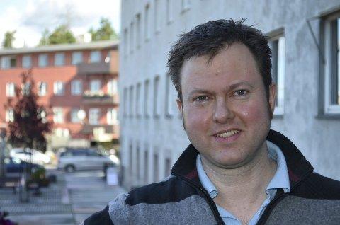 GLAD: Prosjektleder Yngve Sætre er glad for bevilgningen til Biosmia over statsbudsjettet. (Foto: Bjørn-Frode Løvlund)