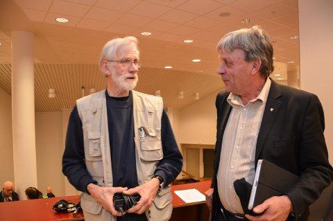 PÅVIRKERT: Varaordfører Arnfinn Uthus takket IBBs Arild Pedersen for jobben har gjort for å omvende ham fra alternativ 2 til 0+