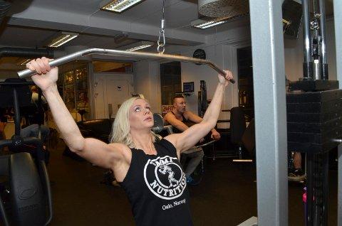 Elise Murbræck, SV'eren fra Hamar som ble bodybuilder. Foto: Rune Hagen