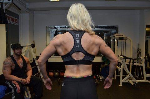 Elise Murbræck fra Hamar er fitnessutøver. Foto: Rune Hagen