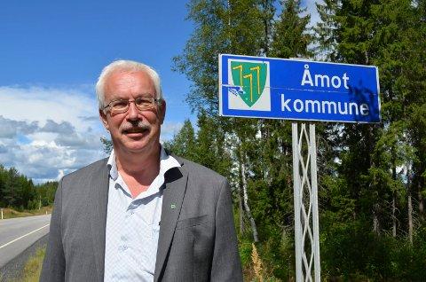 Ole Gustav Narud, ordfører i Åmot kommune.