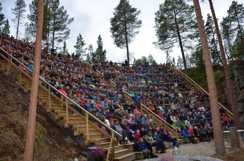 SPEKTAKULÆR: Amfiet i Spekkhogget har tribuneplass til cirka 650 personer.