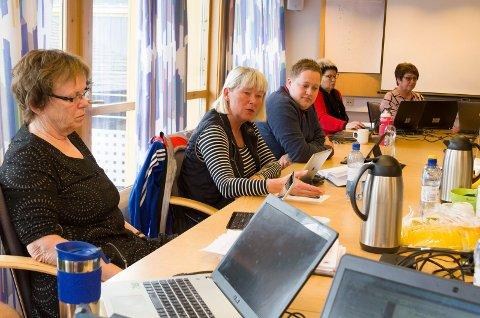 VIL HA KONTROLL:  Vivi Nysveen (SV fra venstre), Espen André Kristiansen og Tove Brenna Holmen (Ap) er blant de sju politikerne i kommunestyret som vil ha lovlighetskontroll av kommunestyrets vedtak 15. februar i år.  Foto: Kristin Søgård