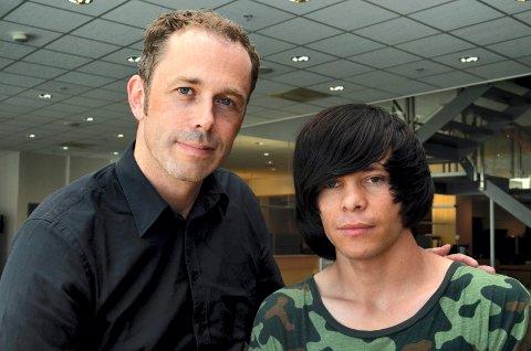 OPPRØRT: Ole Kristian Bonden i støttegruppa er opprørt over måten Aref Hosseini behandles på.