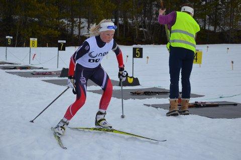 Mari Grøtli Svergja fra kvikne kommer vi til å høre mer fra i årene fremover. Et meget stort talent i flere idrettsgrener.