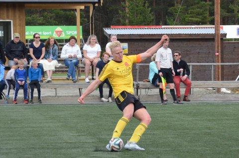 Sveinung Aasgårdble matchvinner og holdt Gimse spillerne unna i hektiske sluttminutter.