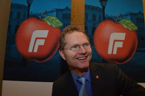 Frp-politikeren advarer mot et blodrødt Hedmark etter valget. (Foto: Rune Hagen)