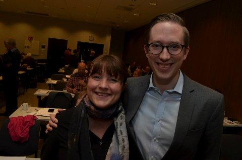 MØTER SOM VARA: Eli Wathne fra Kongsvinger vet ikke hvor lenge hun kommer til å møte som vararepresentant for Kristian Tonning Riise på Stortinget for Hedmark Høyre. Bildet er fra nominasjonsmøtet i 2017.