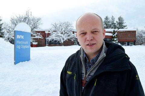 VIKTIG: – NRKs distriktssendinger på tv er viktige og bør ha like lange sendeflater som før, mener stortingsrepresentant Trygve Slagsvold Vedum (Sp). (Foto: Bjørn-Frode Løvlund)