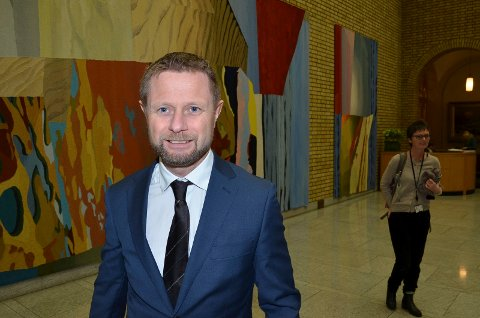 MÅ SVARE: Helse- og omsorgsminister Bent Høie (H) må redegjøre for hvor Helse Sør-Østs ledelse egentlig holder til. (Foto: Bjørn-Frode Løvlund)
