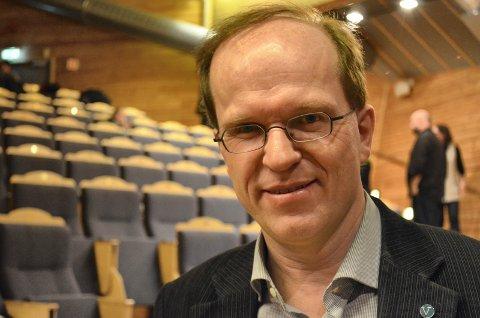 GÅR IKKE UT MED NAVN: Sjur Skjævesland, leder i Hedmark Venstre, vil ikke gå ut med navn på aktuelle statsrådkandidater fra Hedmark.