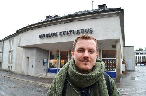 FORNØYD: Øystein Egge, daglig leder i Movies on War, er godt fornøyd med årets festival.