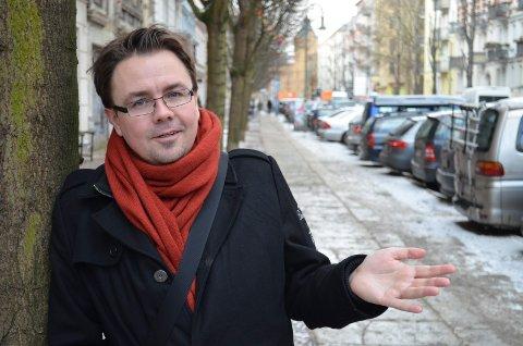 LEVER AV QUIZ: Thomas Kolåsæter fra Trysil lever delvis av quiz. Her et bilde fra Berlin, der han har bodd de siste årene.