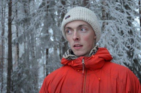 TUNGT HALVÅR: - Når noen kommer ut for en sånn ulykke som Tomas (Solem) er det tanker som surrer gjennom hodet hele tiden, sier hundekjører Amund Kokkvoll.