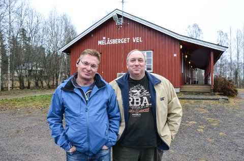 AKUTT: Ole Johnny Martinsen (til venstre), her sammen med Ståle Danielsen, mener Elverum må stå på videre for å sikre fortsatt akuttsykehus i Elverum.