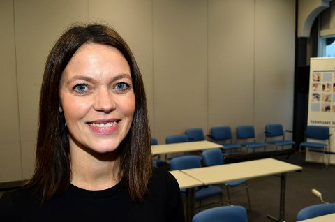 NY JOBB: Astrid Bugge Mjærum har fått ny jobb som kommunikasjonsdirektør i Skattedirektoratet. (Foto: Bjørn-Frode Løvlund)