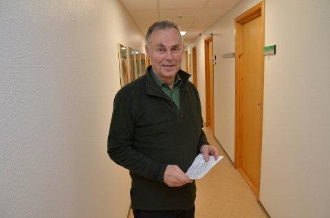 MISFORNØYD: Glommen-veteran,Halvor Svenkerud, mener det framforhandlede fusjonsutkastet er bare å legge dødt.