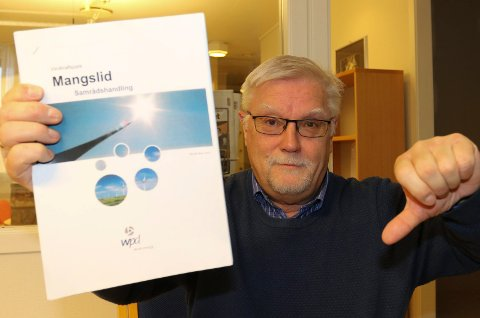 TOMMELEN NED:  – Dette prosjektet vil være katastrofalt for turismen i  grensekommunene, sier Åsnes-politiker Rune Sørlie.