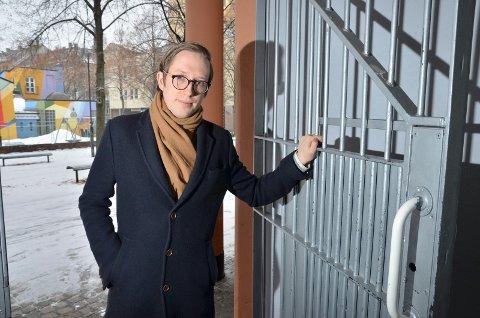 FRAMTID: - Det er Hedmark Høyre som bestemmer min framtid, sier Kristian Tonning Riise om Erna Solbergs uttalelse om at han ikke har noen framtid i Høyre.