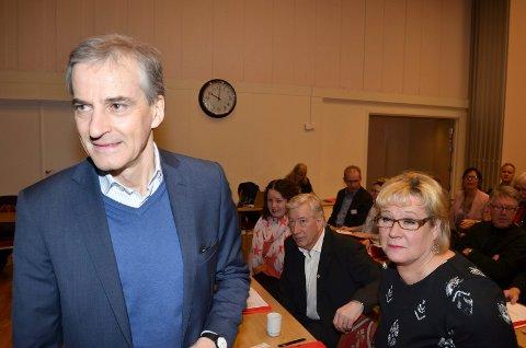 TIL HEDMARK: Ap-leder Jonas Gahr Støre skal besøke Hedmark 1. mai. (Foto: Bjørn-Frode Løvlund)