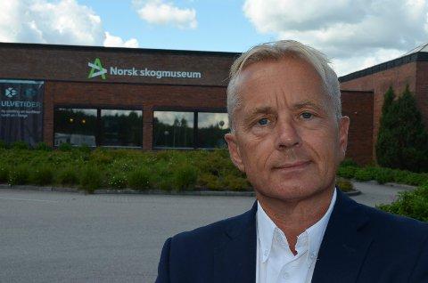 FERSK STYRELEDER: Knut Storberget ble ny styreleder i Anno museum på forsommeren. (Foto: Bjørn-Frode Løvlund)