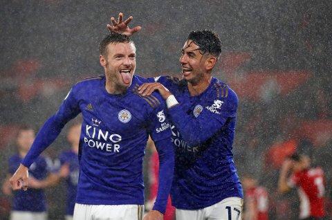 Hat-trick-heltene Jamie Vardy, og Ayoze Perez kan bli hvilt i tirsdagens ligacupkamp mot Burton.