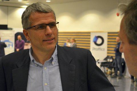 FORNØYD: Nav-direktør Bjørn Lien er fornøyd med utviklingen i sjukefraværet.
