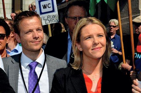 NYE JOBBER: Lars Joakim Hanssen fra Kongsvinger blir statssekretær for Erna Solberg på Statsministerens kontor, mens Sylvi Listhaug trolig går inn i regjeringen som eldreminister.
