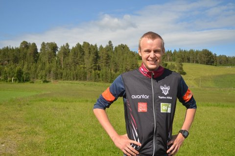 Jon Aukrust Osmoen skal løpe langdistanse og er tatt ut som reserve på staffetlaget til VM i orientering i august. Foto: Ane Mestvedthagen
