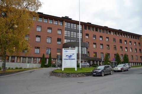 RØDE TALL: En foreløpig regnskapsrapport for januar skal vise at det fortsatt er røde tall i regnskapene for divisjon Gjøvik-Lillehammer. Her sykehuset i Gjøvik.