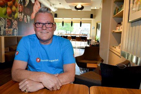 TAKKER FOR SEG: Johan Aas slutter som leder i Innlandet  Frp.