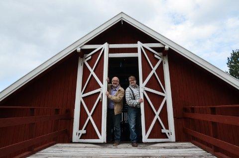 FIKK TILSKUDD: Natthagen i Julussdalen, som drives av Robert Khoury og Trond Einar Solberg Indsetviken, står på lista over kunstnerresidenser i Innlandet som får fylkeskommunalt tilskudd.