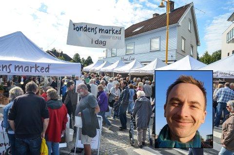 NYE PLANER: Johan Kirkelund lover å gjøre sitt beste for å lage folkefest i Løten, innenfor trygge rammer.