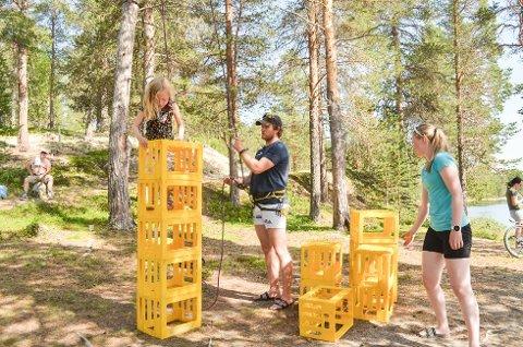 Ei uke med opplevelser: Aktivitetsuka til Basecamp Os går i år i uke 30, med mange og varierte aktiviteter.