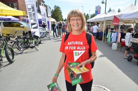 VETERAN: Karin Andersen har takket ja til gjenvalg etter snart 24 år på Stortinget. Her fra valgkampen i 2017.