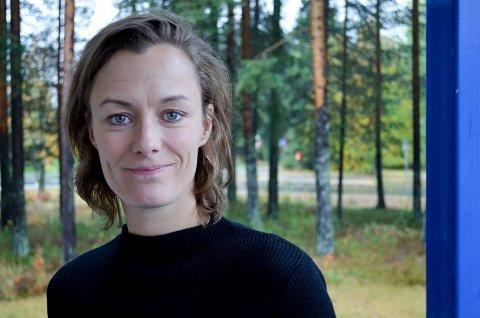 HASLEMOEN: Anette Trettebergstuen har en god nyhet for dem som ønsker aktivitet på Haslemoen.