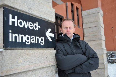 FÅR STØTTE: Kommunedirektør i Elverum, Kristian Trengereid, får full politisk oppslutning om nytt sjukehusforslag.