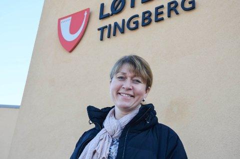 SATSER: Plansjef i Løten, Kristin Ødegård Bryhn, ønsker å spille på lag med nabokommunen Hamar om å utvikle Heggvin næringsområde.