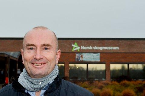 FORNØYD: Sven Inge Sunde, administrerende direktør ved Anno museum, er fornøyd med at de resterende 55 statlige millionene til dokumentasjonssenteret bevilges over statsbudsjettet i 2022.
