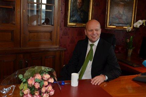 FINANSMINISTER: Nå er Trygve Slagsvold Vedum (Sp) finansminister.