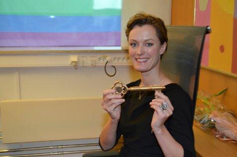 MED NØKKELEN TIL KULTURLIVET: Nå sitter kulturminister Anette Trettebergstuen (Ap) med nøkkelen til kulturlivet.