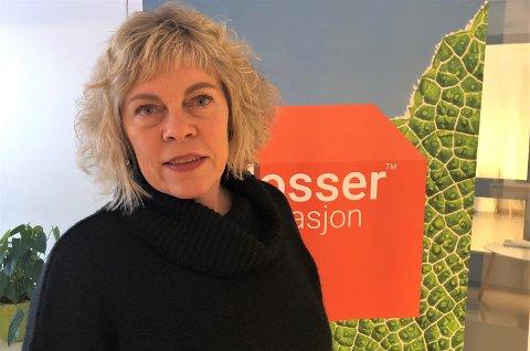 SKEPTISK: Daglig leder ved Klosser Innovasjon på Tynset, Mali Hagen Røe, er glad Tynset kommune vil satse på fiskeoppdrett, men skeptisk til de planene som ble presentert tirsdag.