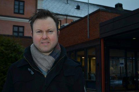 KLAR BESKJED: Kommunestyrerepresentant Yngve Sætre (H) har en klar beskjed til partifelle Bent Høie:  La sykehuset i Elverum bestå.