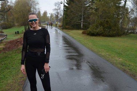 FLOTT TILTAK: Vilde Sollien (24) synes Grunnlovsmila var et flott tiltak.