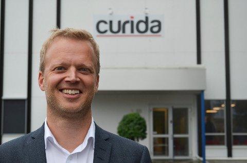 BEDRE BEREDSKAP: Leif Rune Skymoen, daglig leder på Curida i Elverum, sier legemiddelproduksjon i Norge vil bidra til bedre beredskap og til å skape arbeidsplasser.